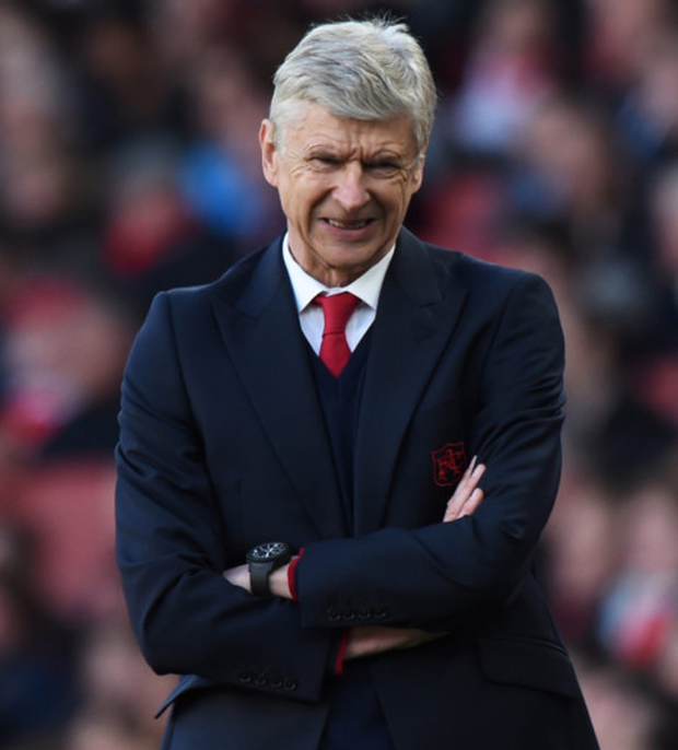 Arsenal manager Arsene Wenger is pictured during Saturday's win over Norwich City.