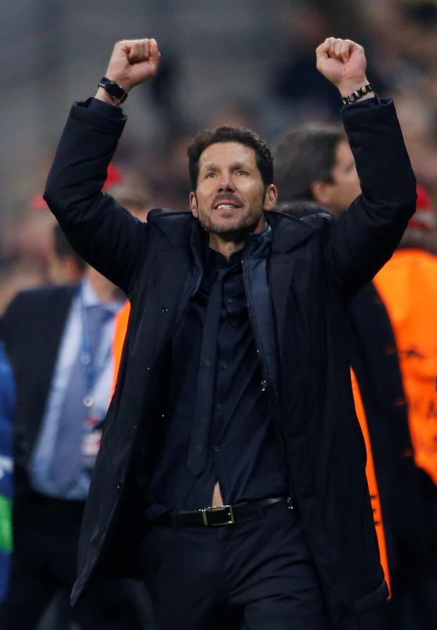 Atletico boss Diego Simeone. Photo: Michaela Rehle/Reuters