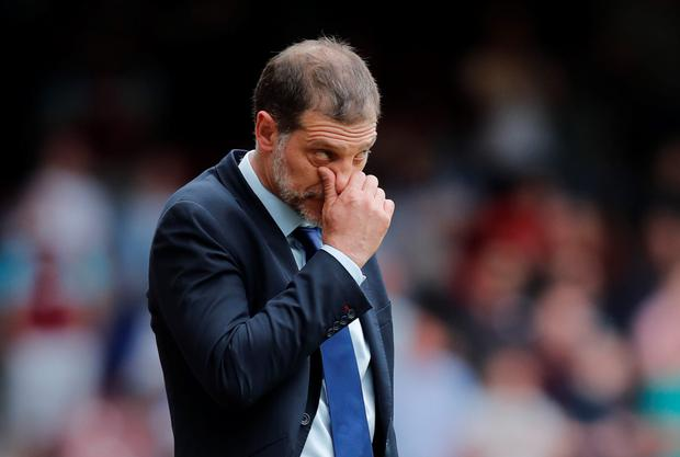 Slaven Bilic. Photo: Reuters