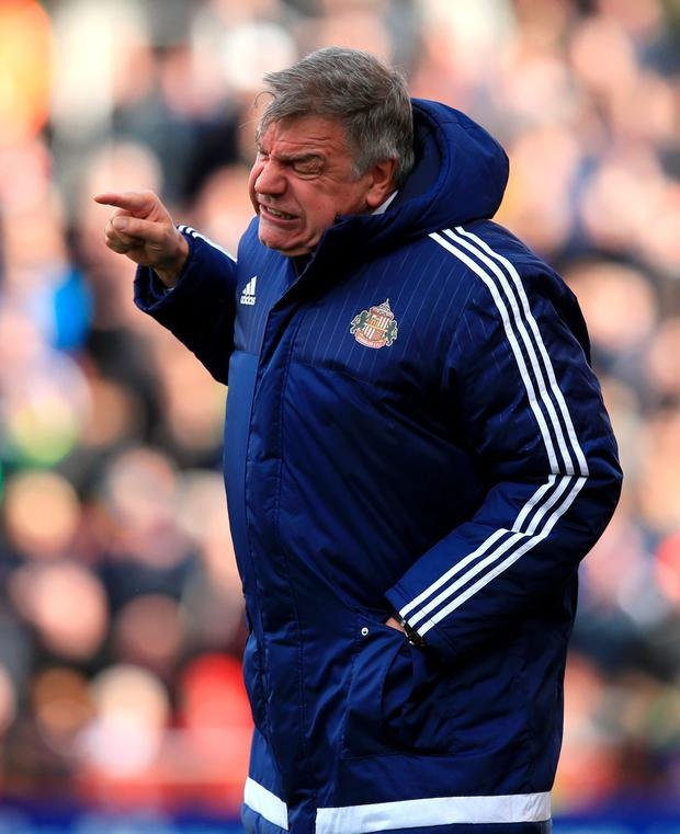 Sam Allardyce. Photo: PA