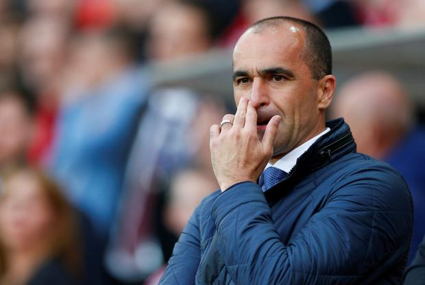 Roberto Martinez. Photo: Reuters