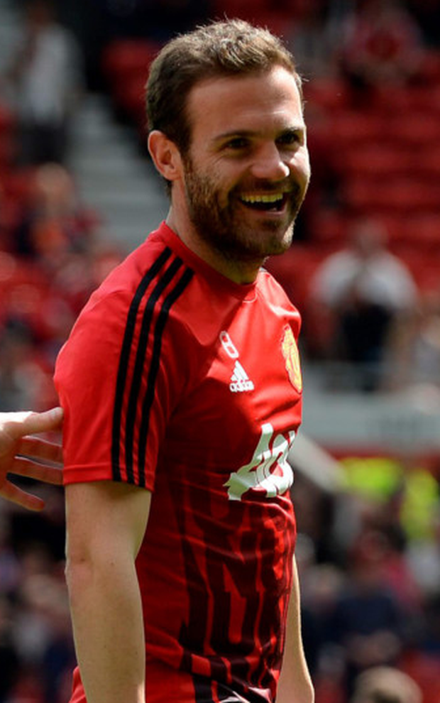 United's Juan Mata Photo: AFP/Getty Images