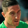 Stephen Ward fields question from the media at Turner's Cross Photo: Sportsfile