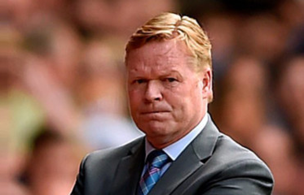 Ronald Koeman Picture: PA