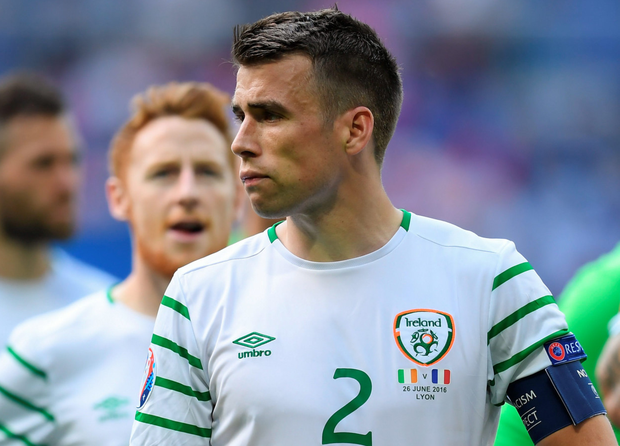 Seamus Coleman believes the fans deserved a quarter-final. Photo: Stephen McCarthy/Sportsfile