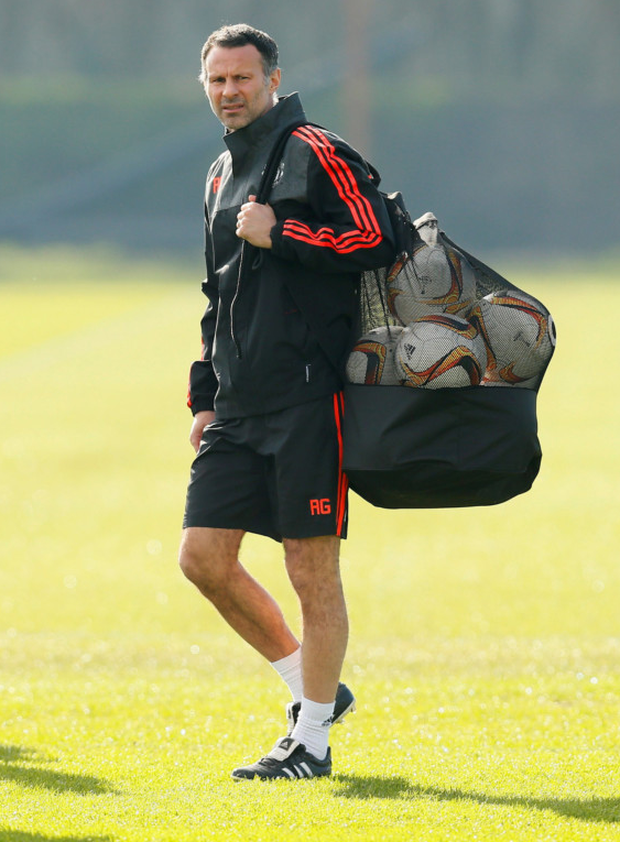 Ryan Giggs has been a fixture at Manchester United since 1987. Photo: Reuters/Jason Cairnduff