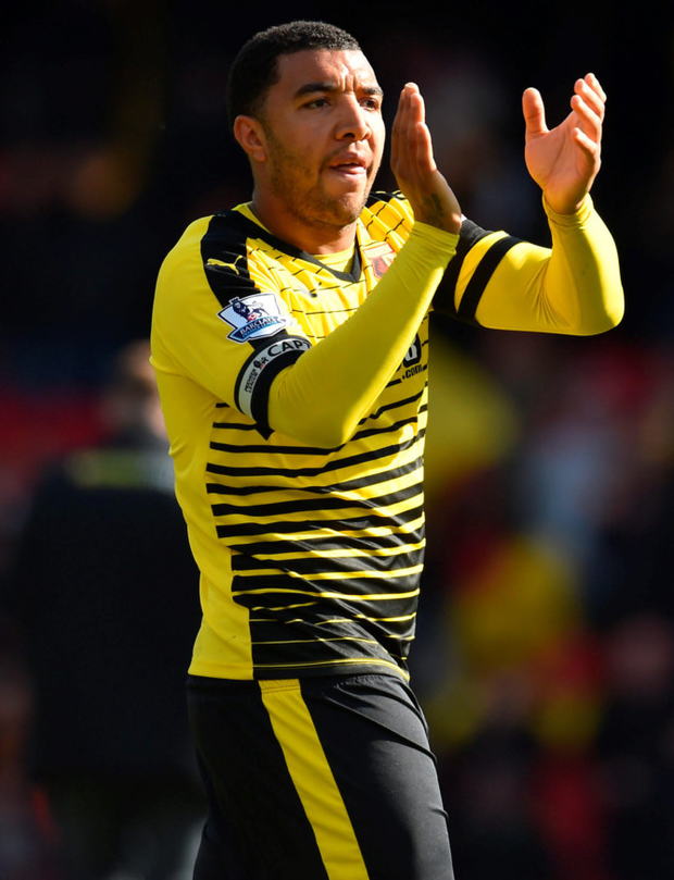 Watford's Troy Deeney. Photo: PA Wire