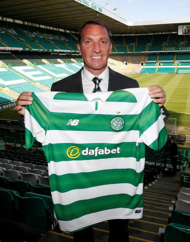 Celtic boss Brendan Rodgers.