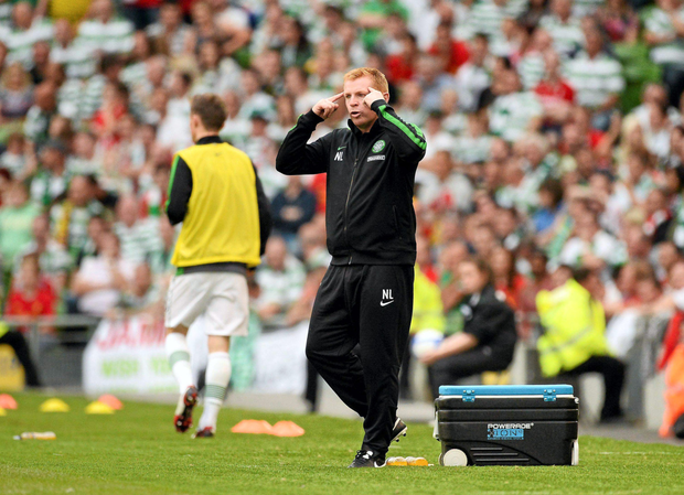 Former Celtic manager Neil Lennon has backed Brendan Rodgers to recover from the shock Champions League qualifying round first leg defeat to Gibraltan minnows Lincoln Red Imps. Picture Credit: SPORTSFILE