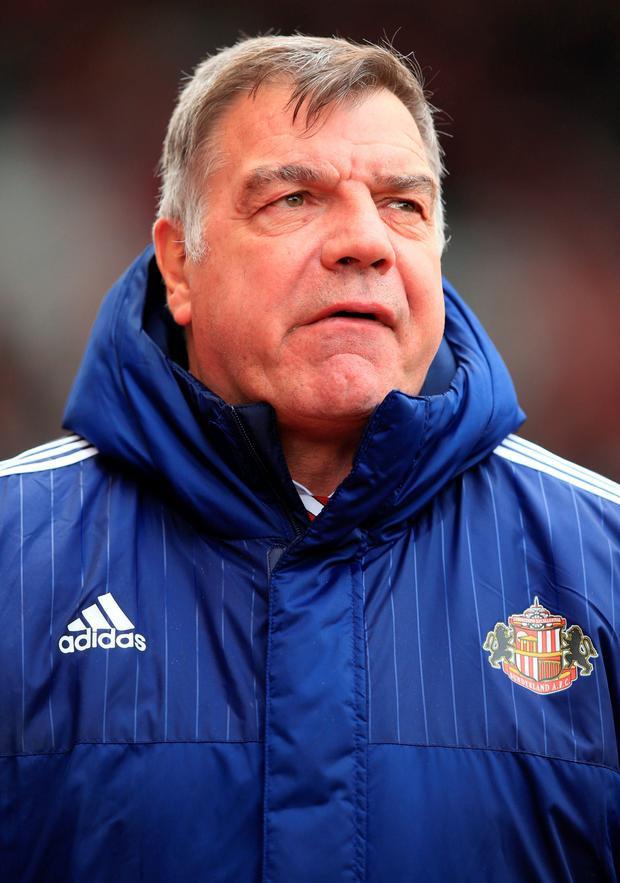Sam Allardyce is to begin talks with the FA about the vacant England post. Picture Credit: PA