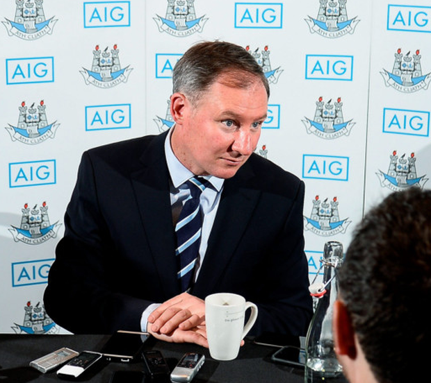 Jim Gavin has delayed announcing his Dublin line-up until 12 noon today. Photo: Sam Barnes/Sportsfile