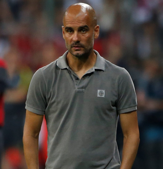 City boss Pep Guardiola. Pic: Reuters