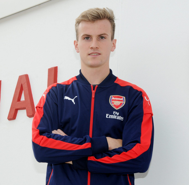 Arsenal's new signing Rob Holding. Photo: Getty