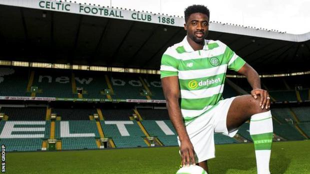 Celtic's Kolo Toure.