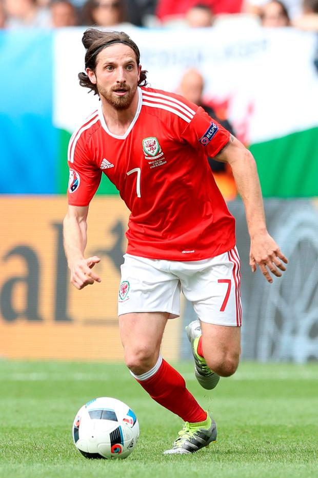New Stoke City signing, Joe Allen. Picture Credit: Martin Rickett/PA