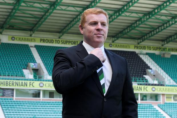 Neil Lennon. Photo: PA