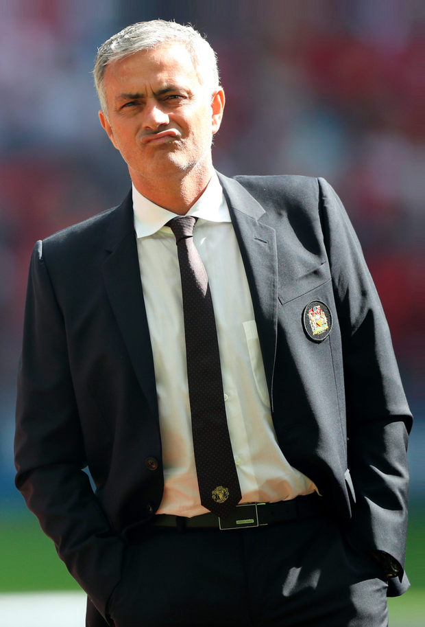 Manchester United boss Jose Mourinho. Photo: PA