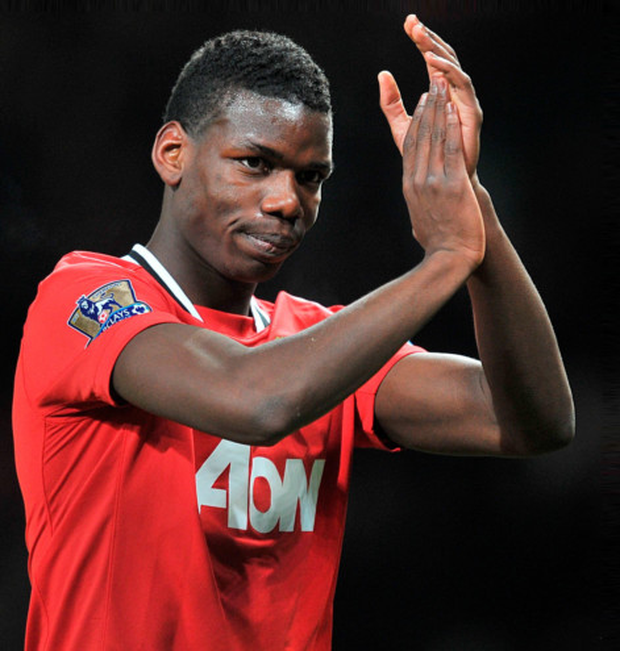Paul Pogba. Photo: Martin Rickett/PA Wire