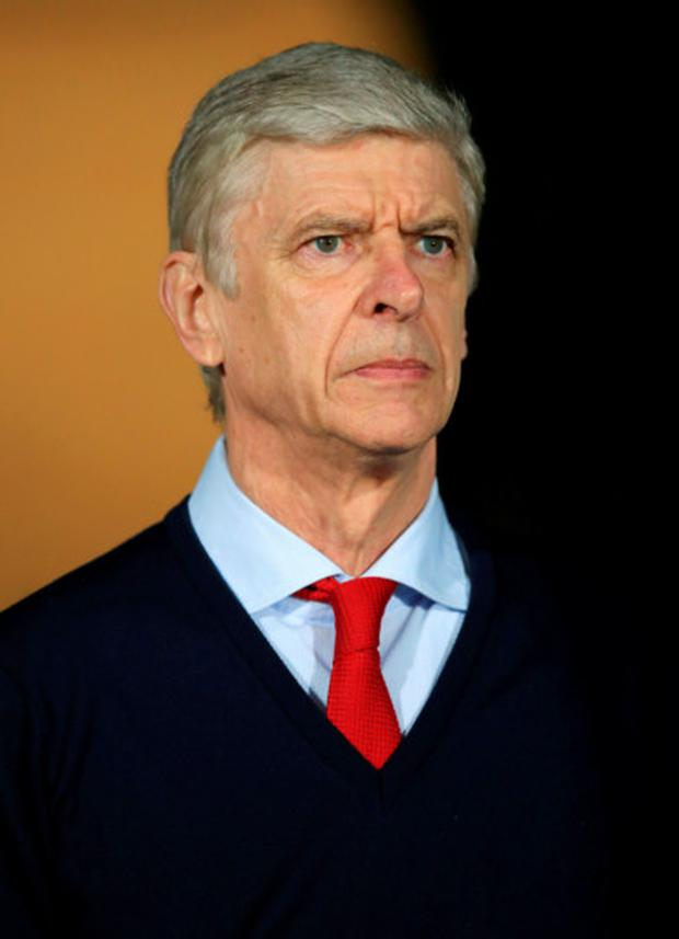 Arsene Wenger. Photo: PA Wire