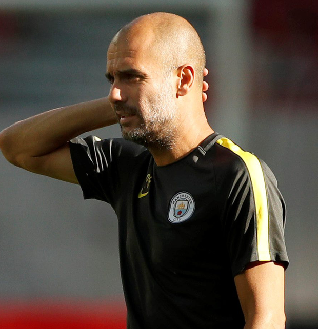 Guardiola decided to do something different with his full backs against Sunderland. Photo: Reuters