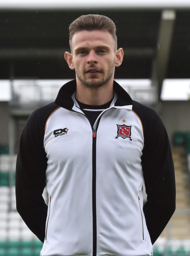 Dundalk central defender Andy Boyle. Photo: Sportsfile