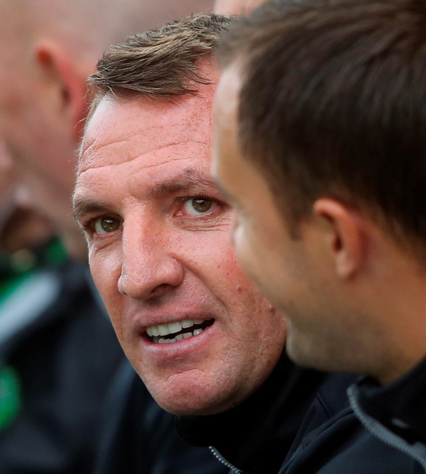 Celtic manager Brendan Rodgers says his side are ready for tonight's Champions League clash with Hapoel Be'er Sheva. Photo: PA