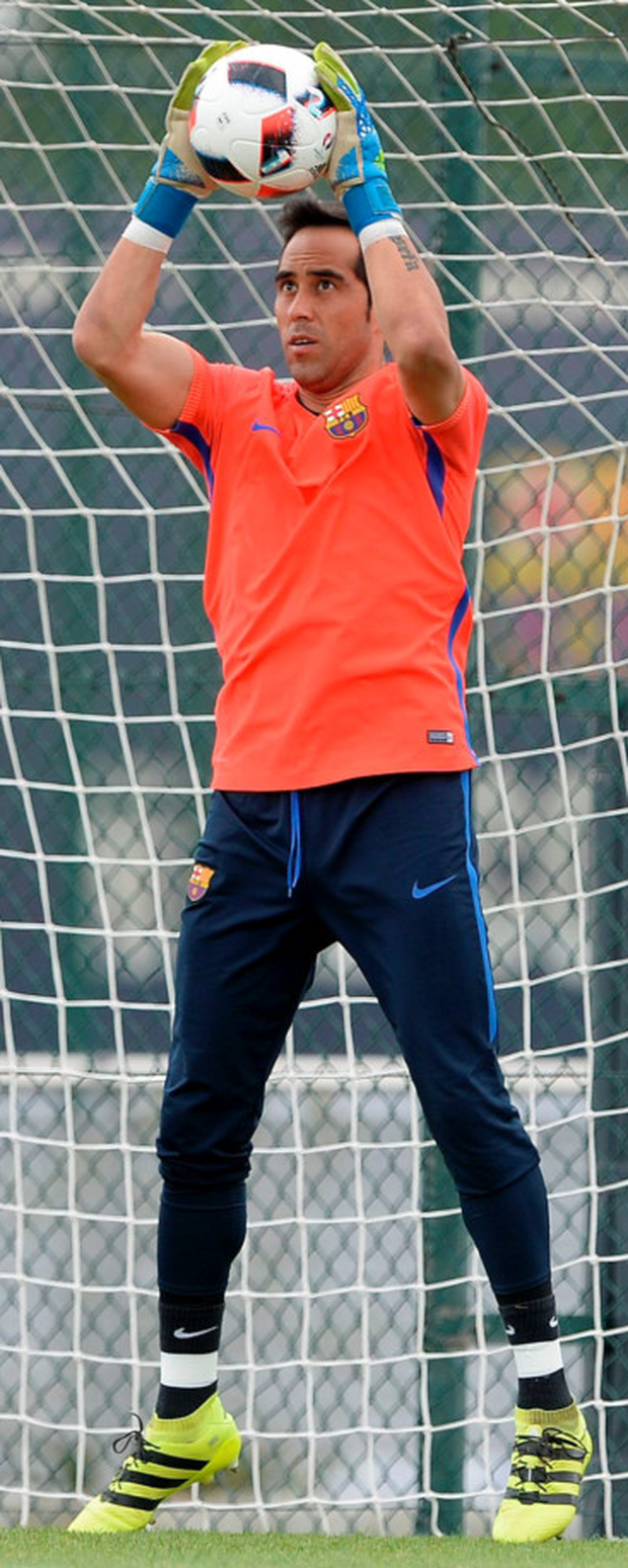 Barcelona's Claudio Bravo. Photo: Getty Images