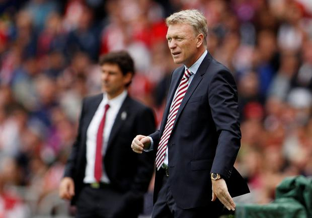 David Moyes. Pic: Reuters