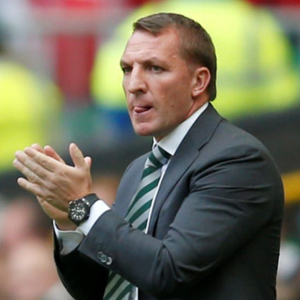 Celtic manager Brendan Rodgers. Photo: Jane Barlow/PA