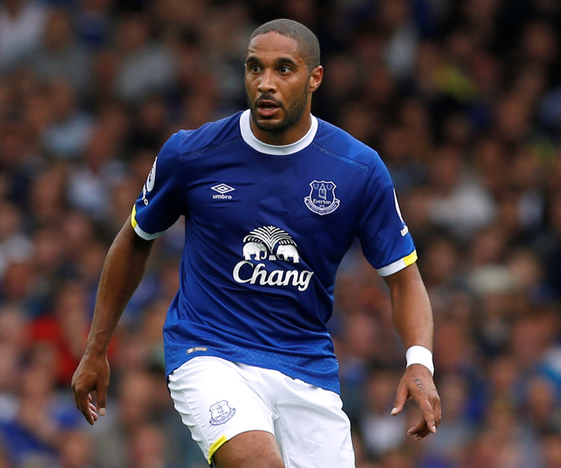 Everton's Ashley Williams. Photo: Ed Sykes/Reuters