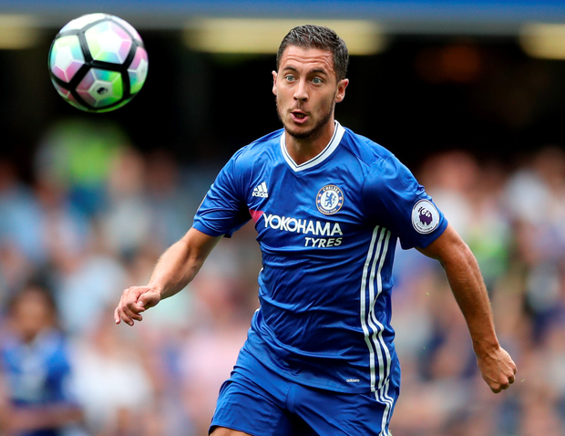 Chelsea's Eden Hazard. Photo: Nick Potts/PA
