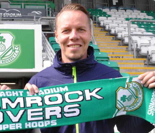 New Shamrock Rovers boss Sami Ristila
