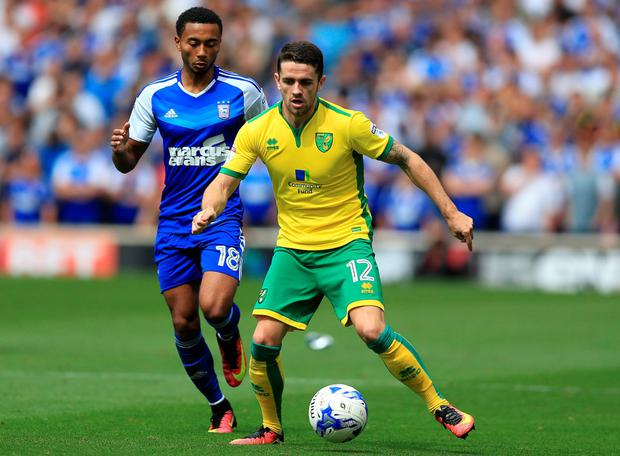 Robbie Brady is set to be back in action shortly
