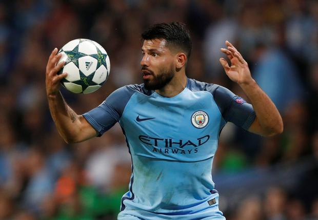 Sergio Aguero. Photo: Reuters
