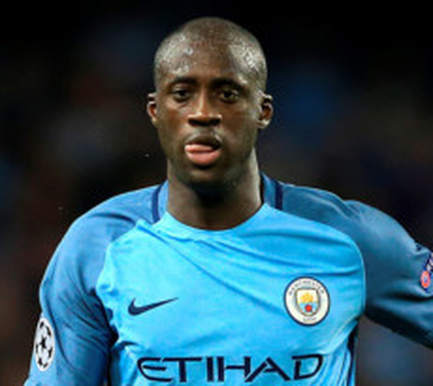 Manchester City midfielder Yaya Toure has been caught up in a row between City boss Pep Guardiola and his agent Dimitri Seluk. Photo: Nigel French/PA Wire
