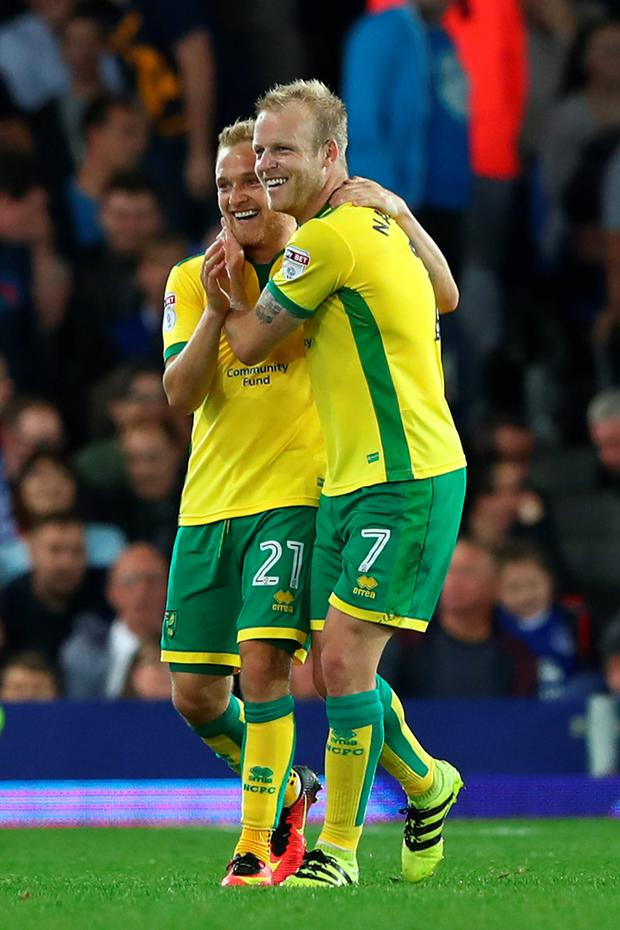 Steven Naismith (right). Photo: Matthew Lewis/Getty Images