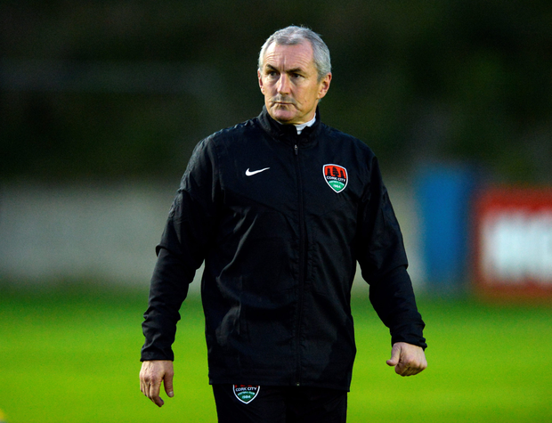 Cork City's John Caulfield: plea to players