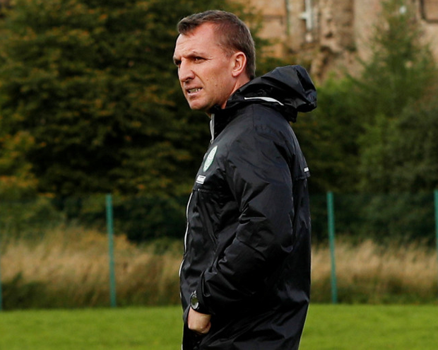 Celtic manager Brendan Rodgers (pictured) knows his side are up against it in tonight's Champions League clash with Manchester City. Photo: Lee Smith/Reuters