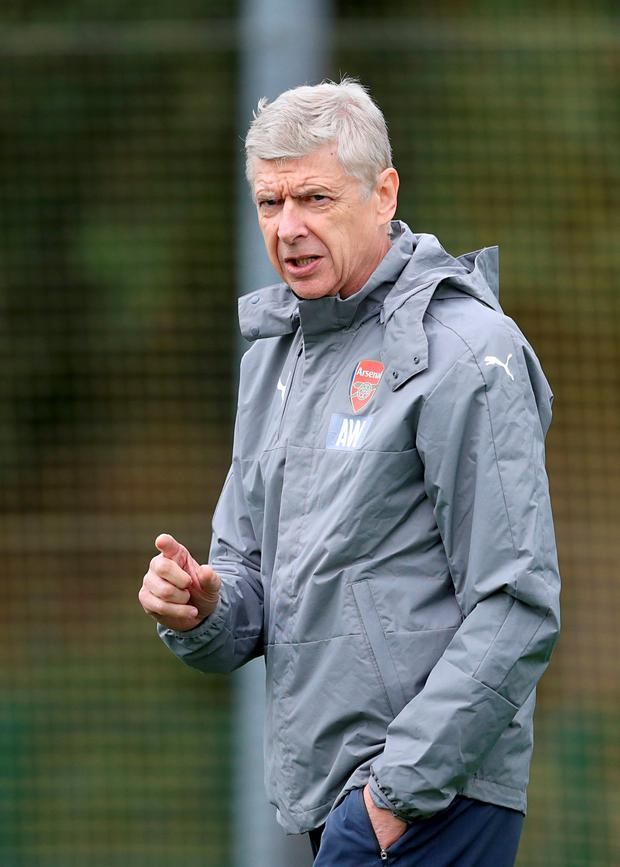 Arsene Wenger. Photo: Adam Davy/PA Wire
