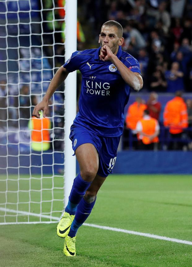 Islam Slimani. Photo: Carl Recine/Reuters