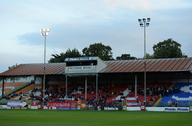 Tolka Park will be demolished and the site used for housing. Pic: Sportsfile