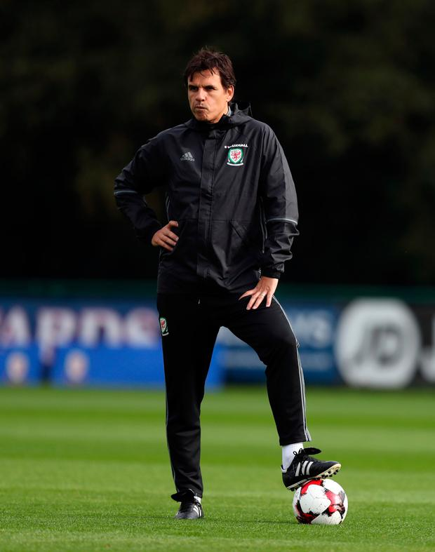 Chris Coleman. Pic: PA