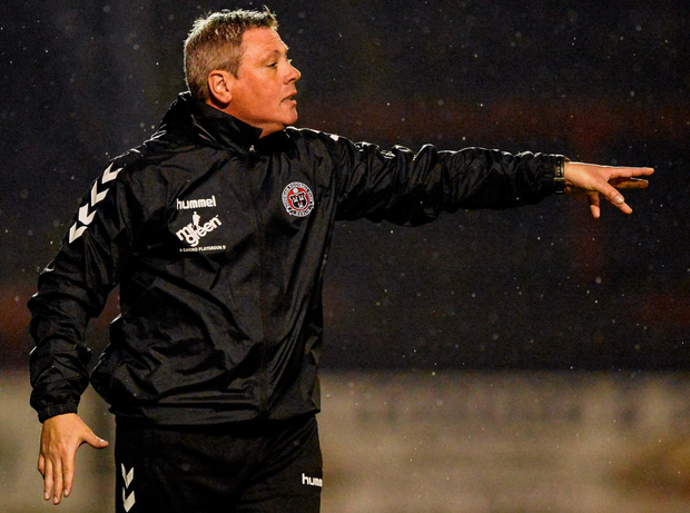 Bohs manager Keith Long
