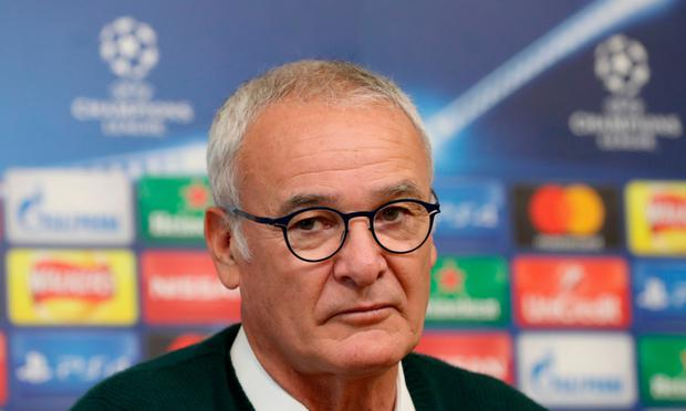 Ranieri wants an improvement on Saturday. Pic: PA