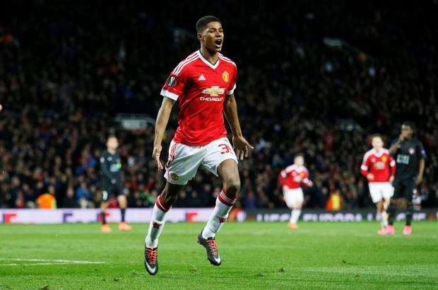 Marcus Rashford: derby dreams