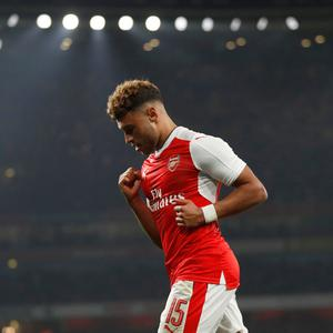 Alex Oxlade-Chamberlain: winning double Picture: AP
