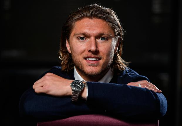 Jeff Hendrick is seeking to bring his fine form in the Premier League with Burnley back to the Ireland fold for Saturday's crunch World Cup qualifier with Austria in Vienna. Photo: Sportsfile