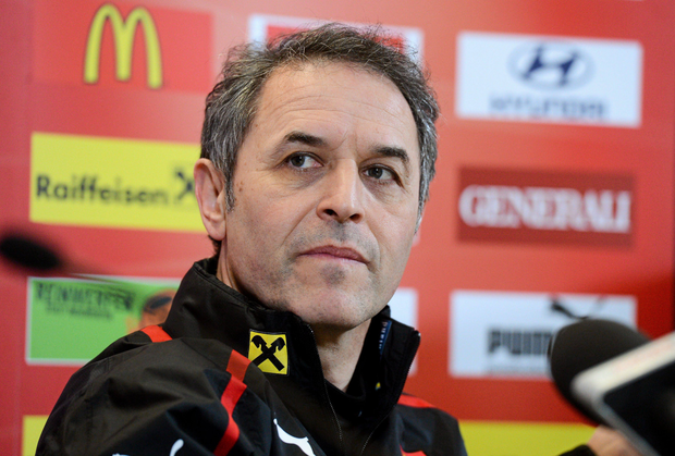 Austria manager Marcel Koller. Photo: Sportsfile