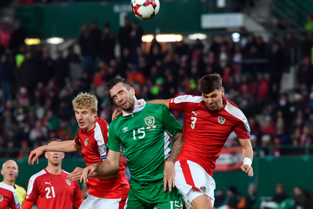 Shane Duffy (centre) Picture: Sportsfile