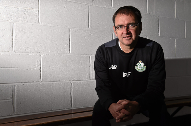Pat Fenlon, pictured here during his time as Shamrock Rovers manager, is poised to take over as Waterford United manager. Pic: Sportsfile